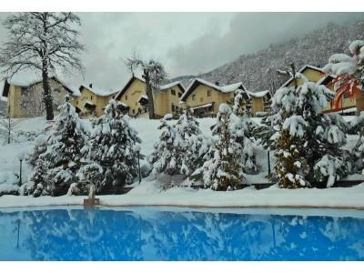 База отдыха Красная Поляна| Открытый бассейн