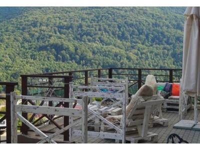 База отдыха Красная Поляна| Вид на горы